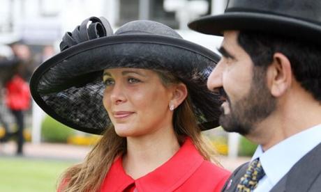 حضور مجدد همسر حاکم دبی در جلسه دادگاه