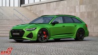 This is an Audi RS6 with almost 1,000bhp